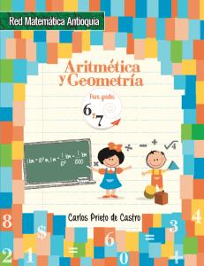 Aritmética y Geometría de grados 6 y 7