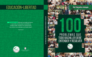 100 problemas de Matemáticas